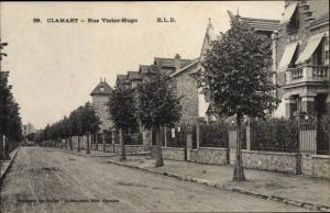 Ak Clamart Hauts de Seine, Rue Victor Hugo