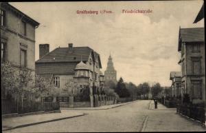 Ak Gryfice Greifenberg Pommern, Friedrichstraße