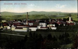 Ak Hirschfelde Zittau in Sachsen, Blick vom Weinberg