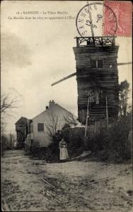 Ak Sannois Val d'Oise, Le Vieux Moulin