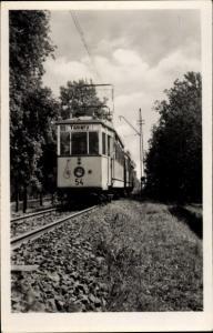 Ak Tabarz im Thüringer Wald, Waldbahn, Straßenbahn 54