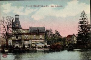 Ak Le Vésinet Yvelines, Lac de Croissy