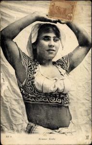 Ak Femme Arabe, Araberin, Maghreb