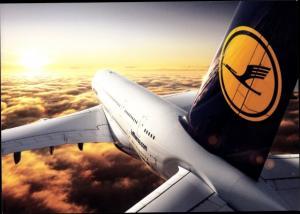 Ak Lufthansa Airbus A 380, Passagierflugzeug
