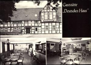 Ak Heiligendorf Wolfsburg in Niedersachsen, Gaststätte Deutsches Haus, Jukebox