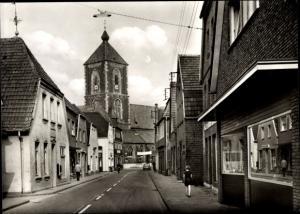 Ak Ramsdorf Velen Münsterland, Walburgiskirche, Geschäft