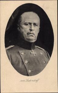 Ak General Erich Friedrich Wilhelm von Ludendorff