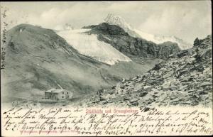 Ak Stüdlhütte und Großglockner in Tirol