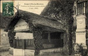 Ak Augerville Loiret, Tombeau de Berryer