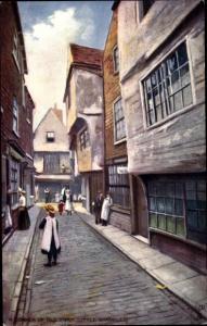 Künstler Ak Oilette, York Yorkshire, A corner of Old York, Tuck 7088