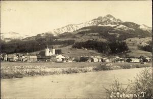 Ak St Johann in Tirol, Panorama