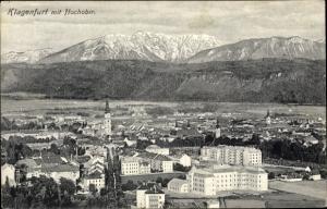 Ak Klagenfurt am Wörthersee in Kärnten, Gesamtansicht, Hochobir