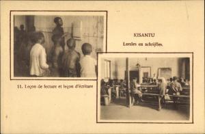 Ak Kisantu DR Kongo Zaire, LEcon de lecture et lecon d'ecriture