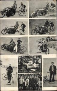 Ak Verschiedene Arten der Fahrräder