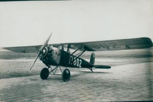Foto Dietrich DP IX Flugzeug D-802, Dez. 1928