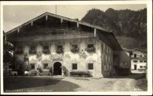 Ak Walchsee in Tirol, Gasthof zum Schöpfer