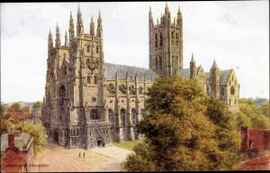 Künstler Ak Arquinton, Canterbury Kent England, Cathedral