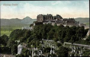 Ak Stirling Schottland, Castle