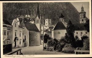 Ak Rattenberg in Tirol, Ortspartie, Unterkunftshaus Holzalpe