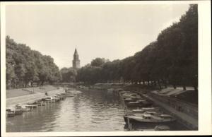 Ak Turku Åbo Westfinnland, Kirche und Kanal