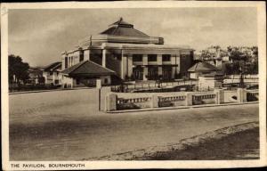 Ak Bournemouth Dorset, The Pavillon