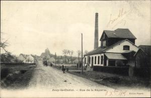 Ak Jouy le Châtel Seine et Marne, Rue de la Râperie