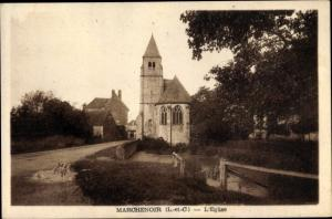 Ak Marchenoir Loir et Cher, L'Eglise