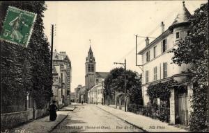 Ak Saint Gratien Val d'Oise, Rue de l'Eglise