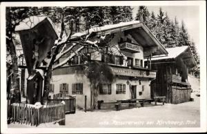 Ak Kirchberg in Tirol, Reisererwirt, Außenansicht