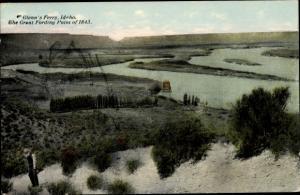 Ak Idaho USA, Glenns Ferry, Fording Point of 1843, Emigration