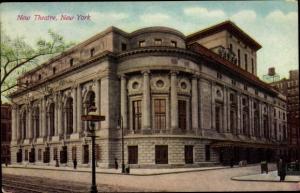 Ak New York City USA, New Theatre, Central Park