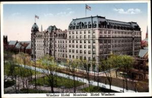 Ak Montreal Québec Kanada, Windsor Hotel