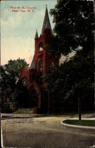 Ak Penn Yan New York, First M. E. Church