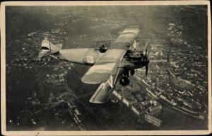 Ak Nase Vojsko, Rada IV, Tschechisches Militärflugzeug in der Luft, Doppeldecker