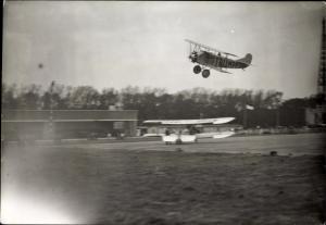 Foto Dietrich DP IIa Bussard Flugzeug, Trumpf, D 644, Flughafen Berlin Tempelhof, 5.9.1926