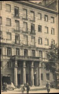 Ak Warszawa Warschau Polen, dzisiejsza, Gmach Ministerstwa Odbudowy