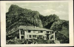Ak Grins in Tirol, Augsburger Hütte, Gatschkopf