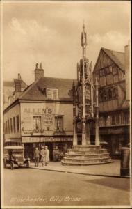 Ak Winchester South East England, City Cross