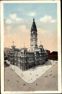 Ak Philadelphia Pennsylvania USA, City Hall