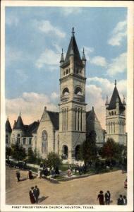 Ak Houston Texas USA, First Presbyterian Church