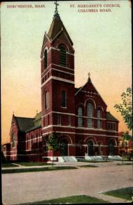 Ak Dorchester Massachusetts USA, St. Margaret´s Church, Columbia Road