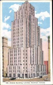 Ak Montreal Québec Kanada, Aldred Building