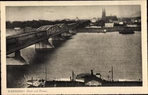 Ak Warszawa Warschau, Praga, Dampfer St Igorniccy