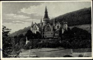 Ak Bad Hönningen im Kreis Neuwied, Schloss Arenfels
