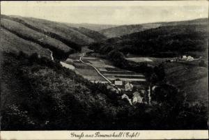 Ak Hürtgenwald, Talschenke Simonskall, Pension Burghaus