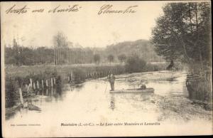 Ak Montoire Loir et Cher, Le Loir entre Montoire et Lavardin