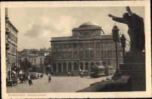 Ak Warszawa Warschau Polen, Staschicpalast