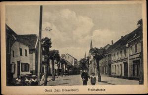 Ak Oedt Grefrath Niederrhein, Hochstraße