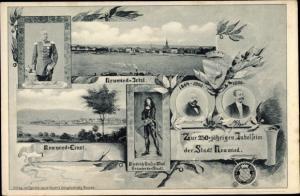 Passepartout Ak Neuwied am Rhein, Zur 250 jährigen Jubelfeier der Stadt Neuwied