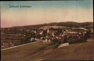 Ak Eckenhagen im Oberbergischen Kreis, Blick auf den Ort